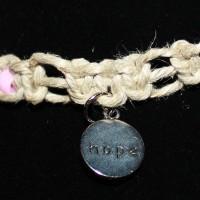 Breast Cancer Hope Necklace – Reverse Side