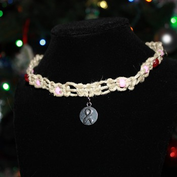 Breast Cancer Hope Necklace