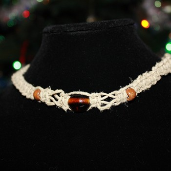 Bead and Twist Necklace